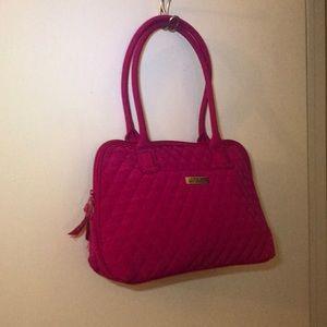 Vera Bradley pink bag
